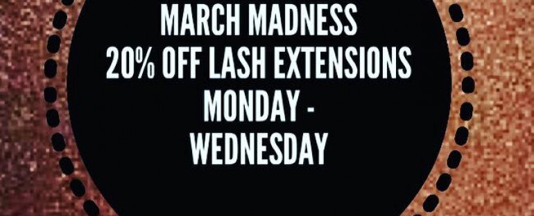 GET LUSCIOUS LASHES THIS MARCH